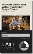 Weave News Reader for Windows Phone