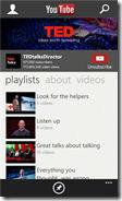 YouTube app for Windows Phone