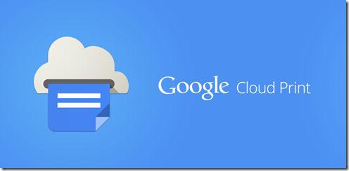 Google Cloud Print Android app