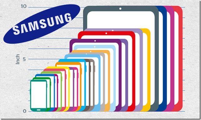Samsung's Galaxy range