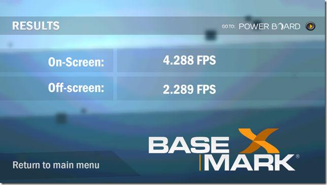 Basemark X Benchmark on Zen Ultrafone 701HD