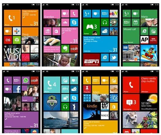Windows Phone 8 UI