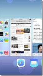 iOS 7 Mutitasking