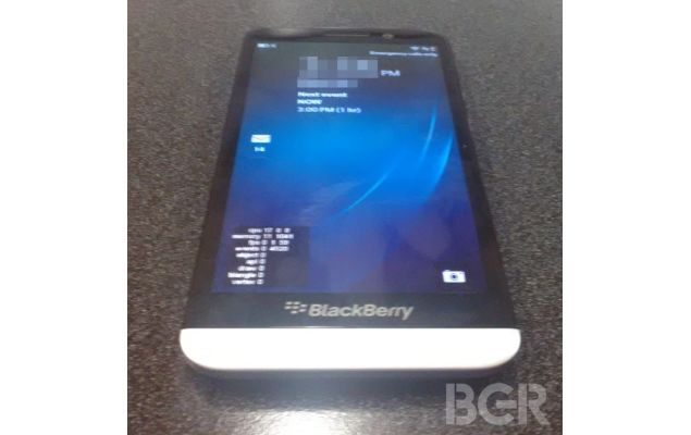 Blackberry A10 Front