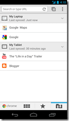 Chrome for Android 2