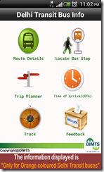 Delhi Transit Bus Info 1