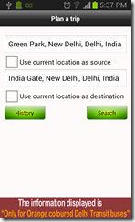 Delhi Transit Bus Info 2