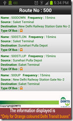 Delhi Transit Bus Info 3