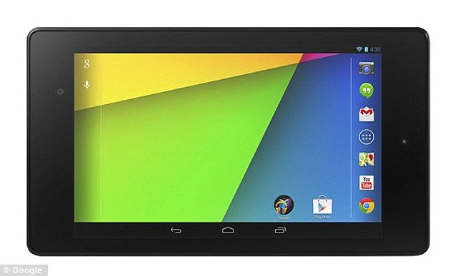 Google Nexus 7 Second front