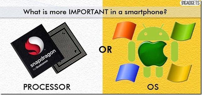 Processor vs OS