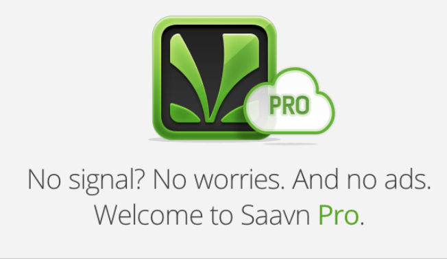 Saavn Pro Android