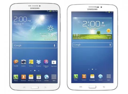 Samsung Galaxy Tab 3 tablets