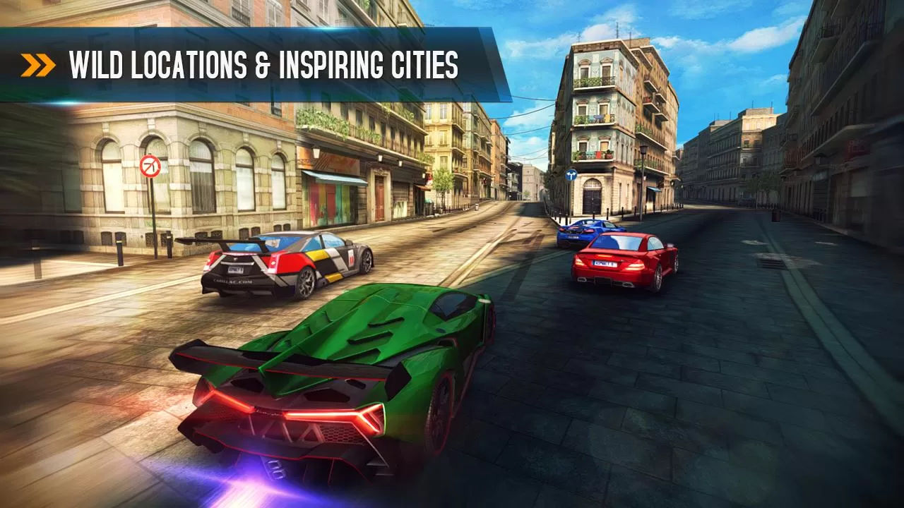 Asphalt 8 Locations
