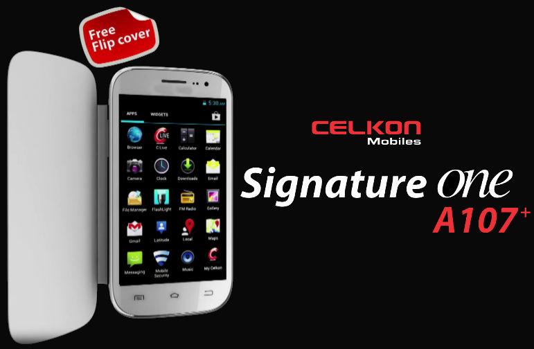 Celkon Signature A107+