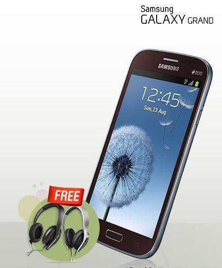 Galaxy Grand free headphone