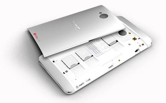 HTC One Dual SIM Back