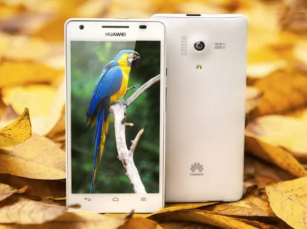 Huawei Honor 3 Front & Back