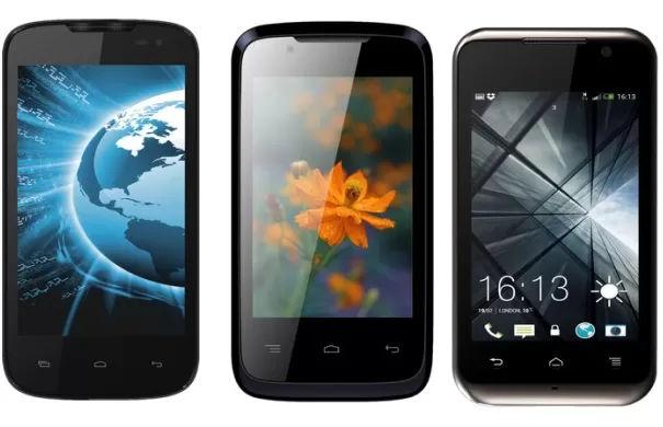 Lava IRIS new smartphones