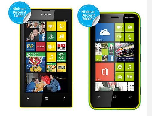 Nokia Lumia 520 and 620