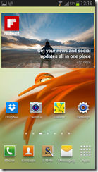 Samsung Galaxy Note II Screenshots