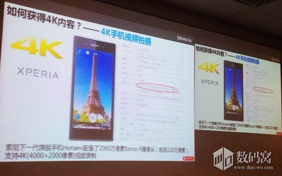 Sony Xperia i1 4K camera specs
