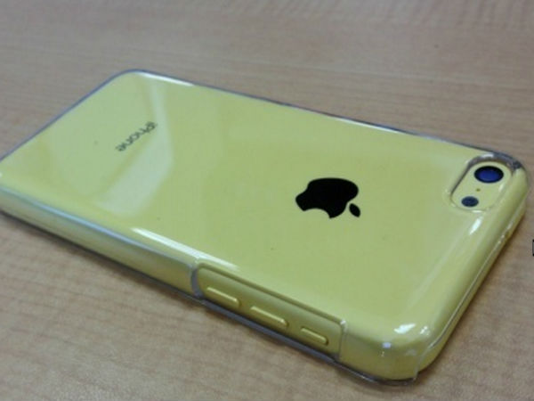 iPhone 5C with Case