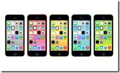 Apple iPhone 5C Colors Front