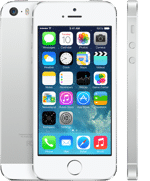 Apple iPhone 5S Silver 1