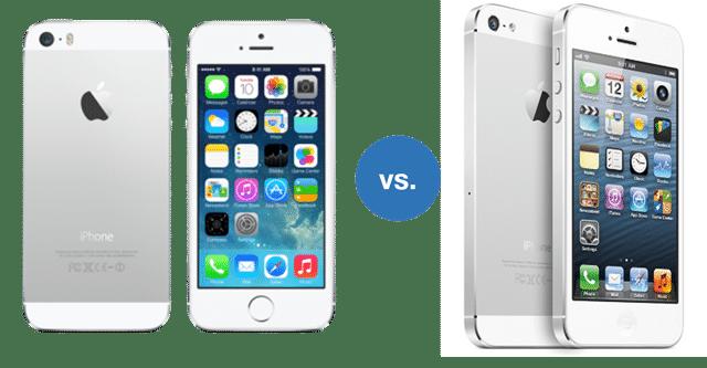 Apple iPhone 5S vs Apple iPhone 5