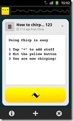 Chirp 1