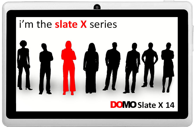 Domo Slate X14 Front