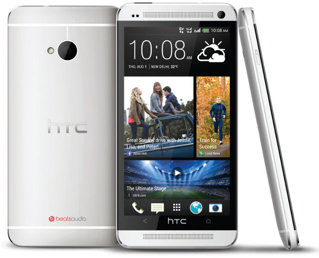 HTC One Dual SIM front