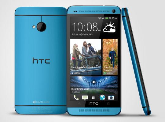 HTC One in Blue