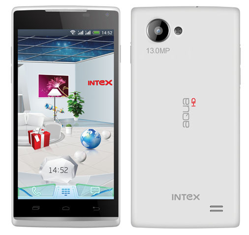 Intex Aqua HD Front back