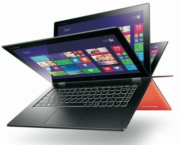 Lenovo Yoga 2 Pro Modes