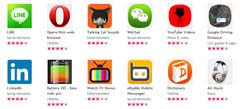 Nokia Asha 501 Apps
