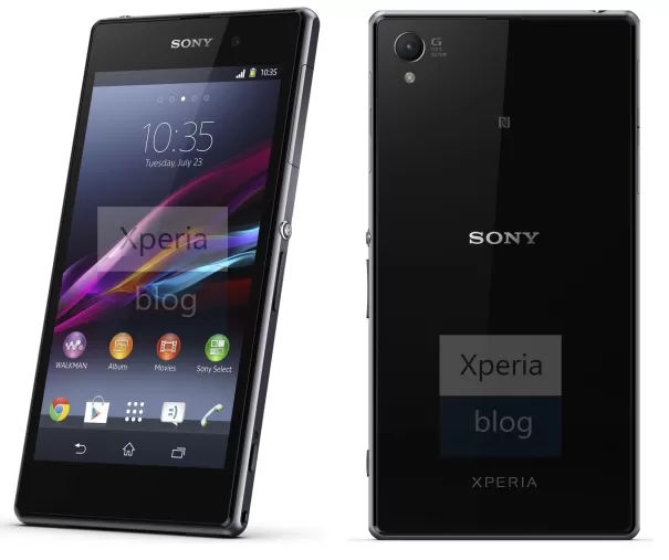 Sony XPeria Z1 Promo Shots
