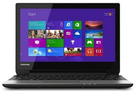 Toshiba NB15T laptop