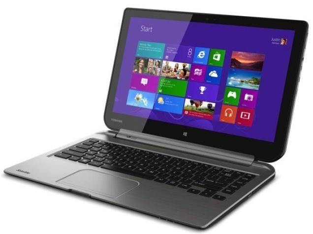 Toshiba Satellite Click Laptop view