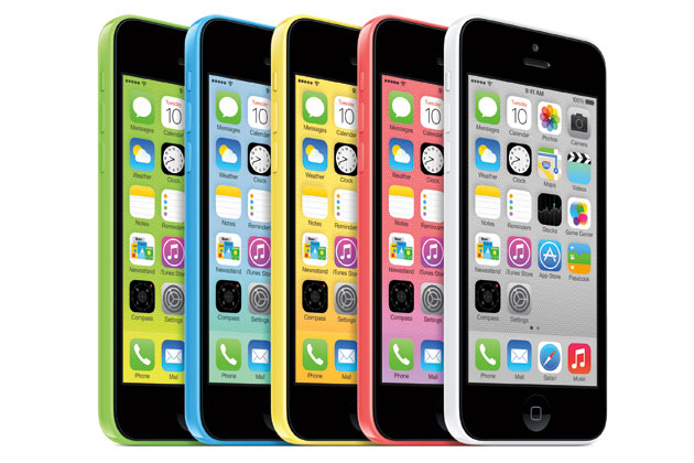 iPhone 5c Colors