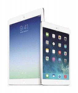 Apple iPad Air and iPad Mini with retina display