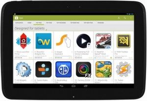 Play store for tablets
