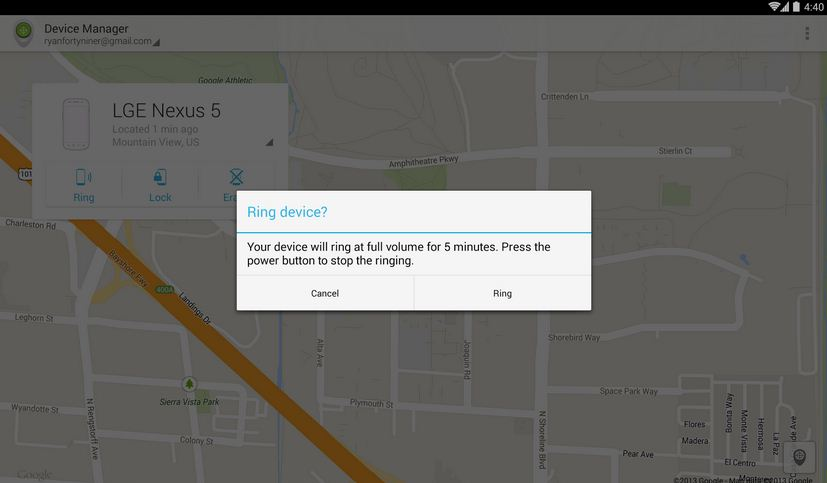 Google launches Android Device Manager App in the play ...