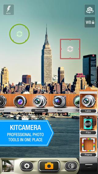 KitCamera screenshot