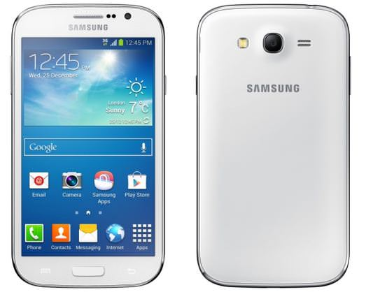 Galaxy Grand Neo front and back