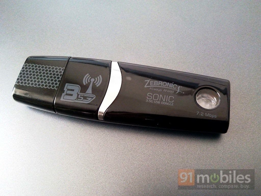 Zebronics Sonic 3 5G USB dongle review: a no-frills solution for