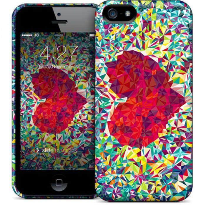 Don't break my heart iPhone case