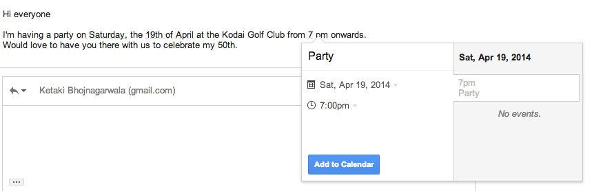 Gmail_auto calendar