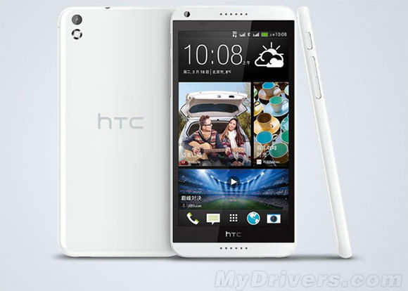 HTC Desire 8 press render