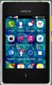 Nokia Asha 502 Front